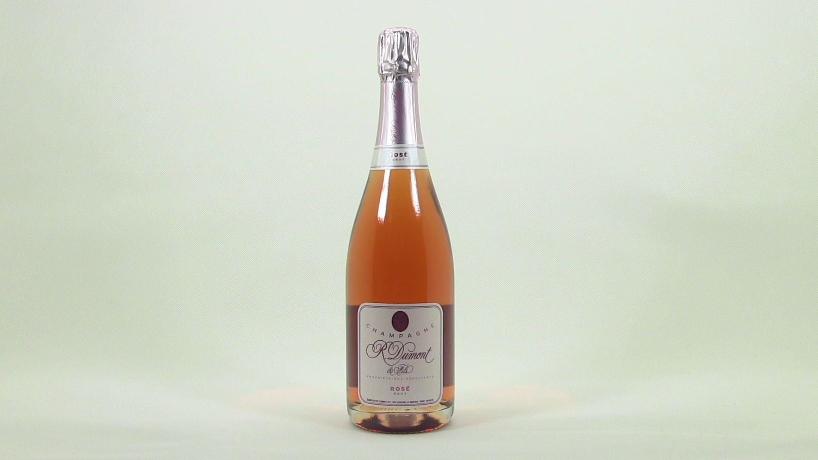 Champagne aoc dumont et fils brut ros reflet des bulles - Saignee a domicile ...