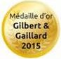 Médaille d'Or Gilbert & Gaillard 2015
