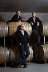 Vincent, Thomas et Florent Collet du Domaine Collet