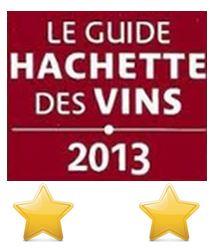 2 étoiles Guide Hachette 2013
