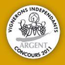 Médaille Argent Vigneron Indépendant